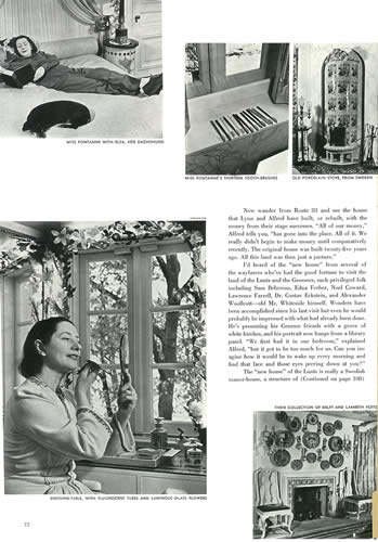 Vogue article, May 1, 1940