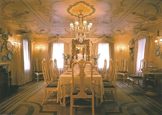 Dining Room - photo by Zane Williams
