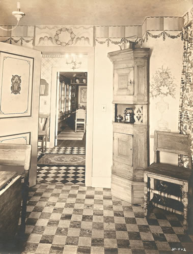 Kitchen design and decoration by Claggett Wilson